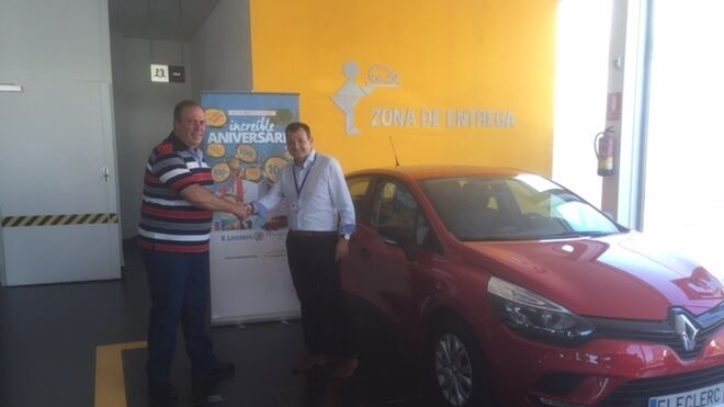 E.Leclerc Aranjuez regala un coche a uno de sus clientes
