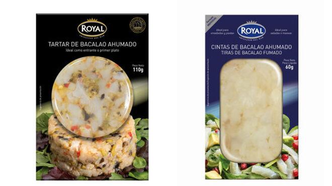 Royal lanza nuevos formatos y recetas de bacalao ahumado