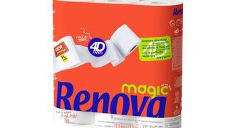 Renova lanza Magic 4D, su papel higiénico más suave