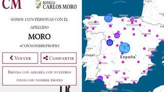 Bodega Carlos Moro lanza la campaña #ConNombrePropio