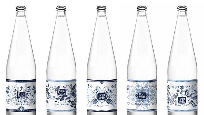 Font Vella ensalza la naturaleza en sus nuevas botellas