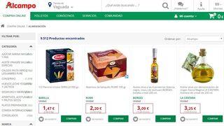 Alcampo es el súper online más barato; Ulabox, el más caro