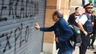 La pintada en un Mercadona catalán que se ha hecho viral