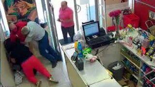 Atraco frustrado en una droguería de Sevilla