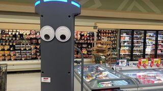 Así es Marty, otro robot que llega a los supermercados