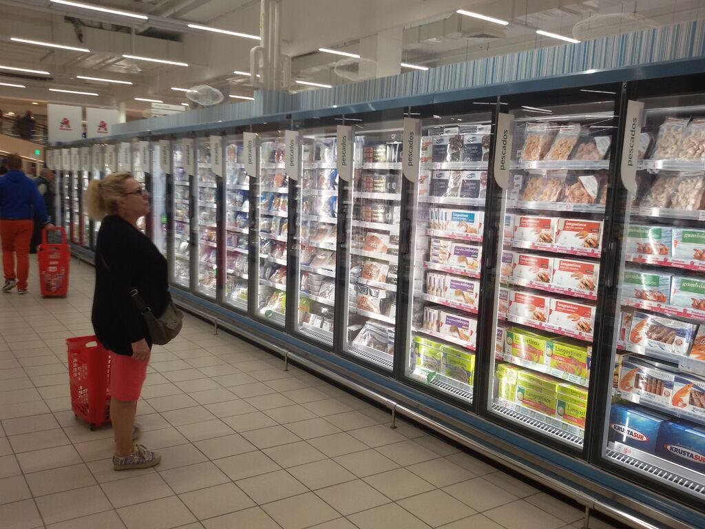 Sección de refrigerados, ejemplo de orden