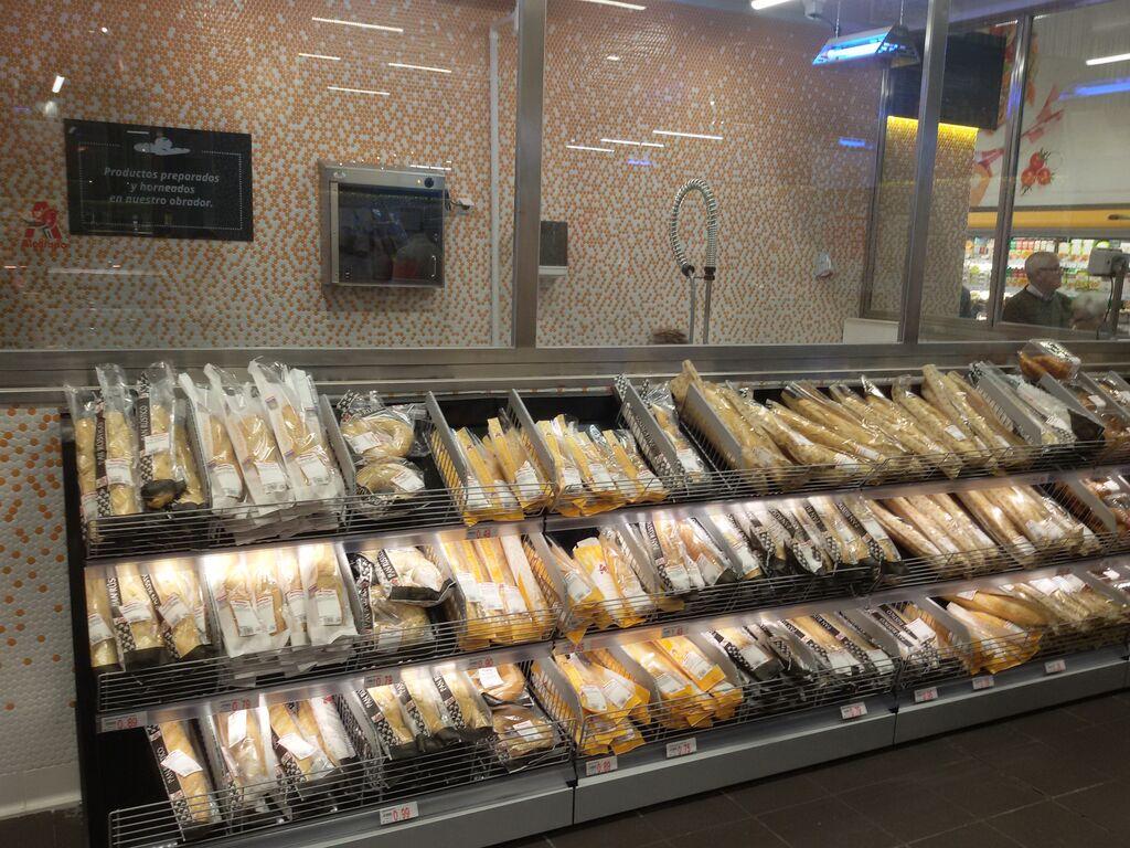 El pan está elaborado artesanalmente y a diario