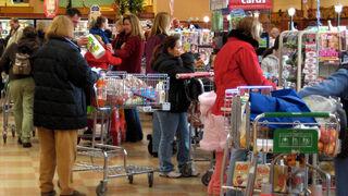 Cómo elegir la fila más rápida del supermercado... ¡según las matemáticas!