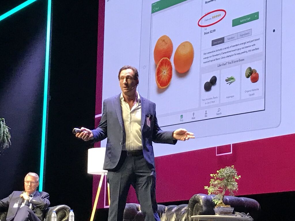 David McInerney, cofundador de FreshDirect