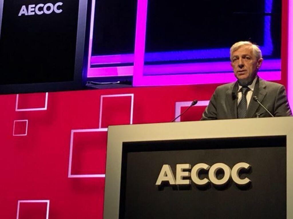Javier Campo, presidente de Aecoc, inició el programa de ponencias del congreso
