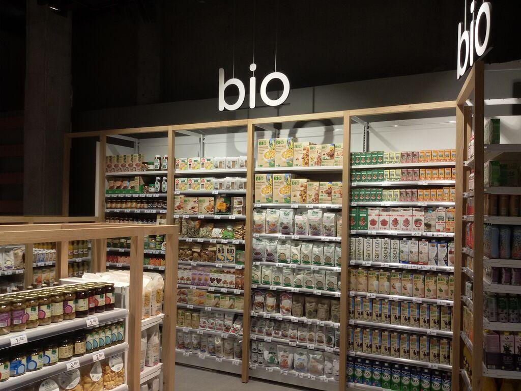 El súper tiene más de 1.000 productos Bio envasados