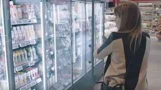 La tendencia a no tener empleados en el supermercado