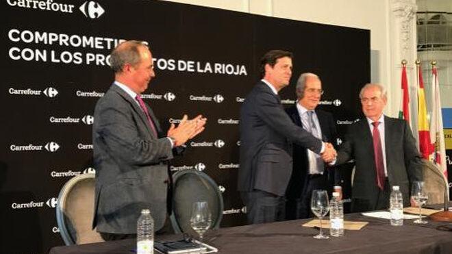 Carrefour se implica con los productores de La Rioja