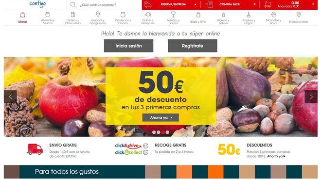Eroski acelera las entregas de su supermercado online