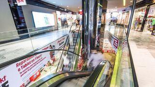 Los centros comerciales sufren un bajón antes de la Navidad