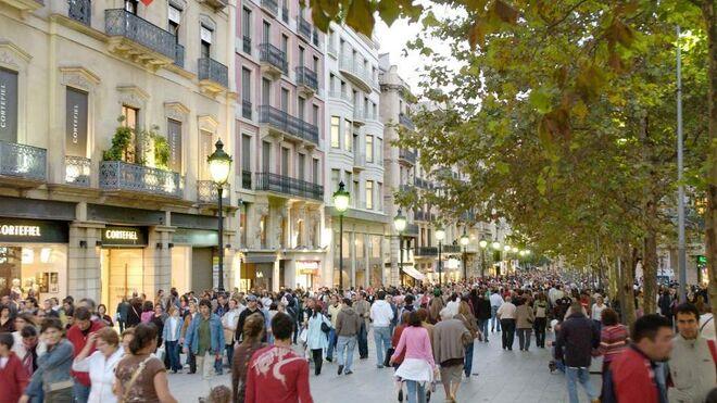 El desafío catalán lastra las ventas del comercio minorista