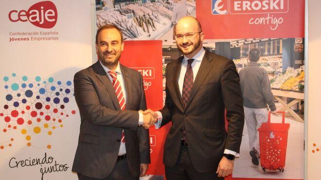 Eroski avanza en su apoyo a los jóvenes emprendedores