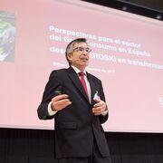 """Agustín Markaide (Eroski): """"A las empresas les toca ser prudentes, ahorrar y prepararse para un tiempo de resistencia"""""""