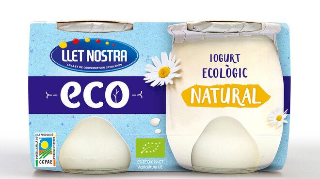 Llet Nostra amplía su gama de fríos con yogures ecológicos