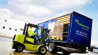 Palletways Iberia supera los 4.000 pallets diarios