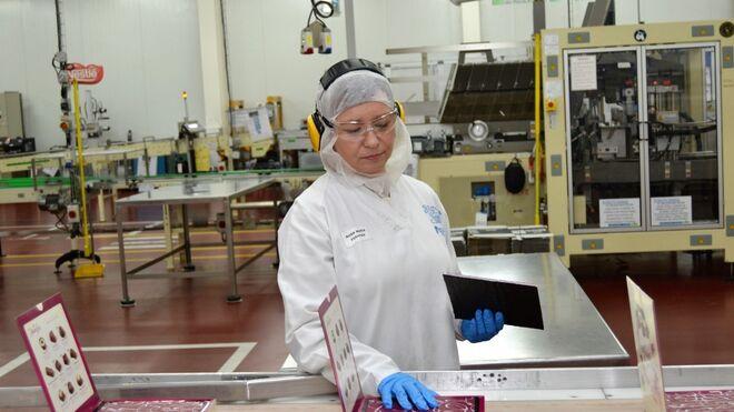 Récord de producción de la fábrica Nestlé en La Penilla