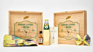 Schweppes busca sorprender con su Ginger Lovers Box