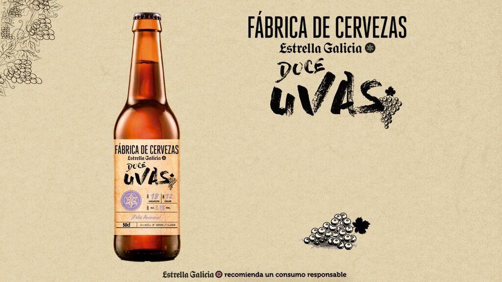 Estrella Galicia y su cerveza de uvas especial para Nochevieja. No estaba todo inventado en el mundo de las cervezas...