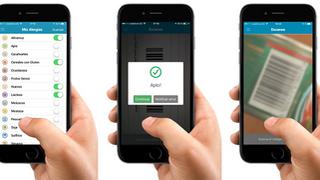 Una app que ayuda a personas con alergias a comprar