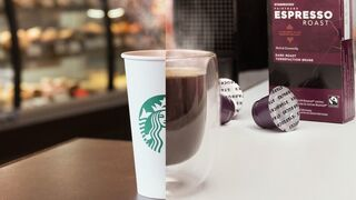 Starbucks desafía a Nespresso con sus cápsulas de café