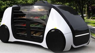 Robomart: así funciona el primer coche-supermercado