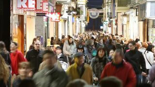 Descenso de visitas a centros comerciales al inicio del año
