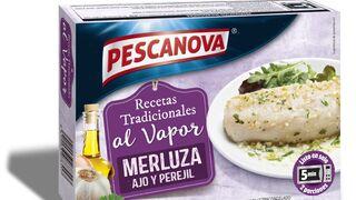 Pescanova presenta sus nuevas porciones de merluza al vapor