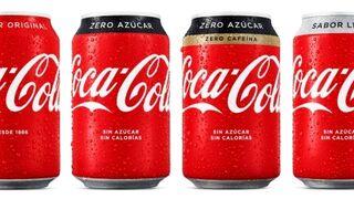 Coca-Cola da un nuevo toque a todos sus envases