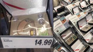 Lidl retira unos falsos audífonos de sus tiendas