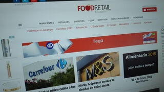 Nuevo récord en FoodRetail en enero: 70.000 usuarios únicos