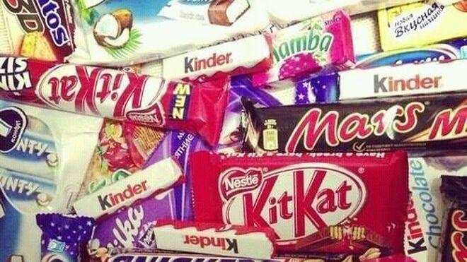 KitKat, Kinder... ¿qué snacks de chocolate gustan más?