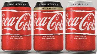 Coca-Cola baja el 45% el aporte de azúcar por litro en España