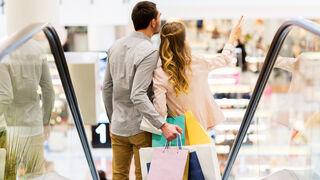 Más visitantes a los centros comerciales en febrero