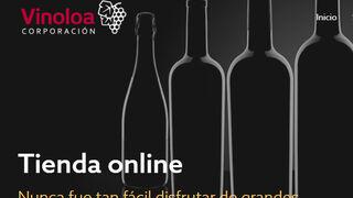 Corporación Vinoloa renueva su web y su tienda online