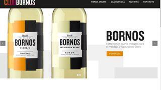 Bornos impulsa su ecommerce y moderniza su bodega online