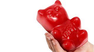 ¿Un oso gigante XXL como golosina? 'Culpa' de Fini...
