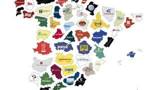 El mapa de las empresas más importantes en cada provincia