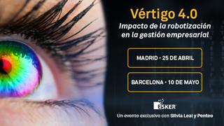 Esker te invita a un evento único sobre transformación digital: Vértigo 4.0