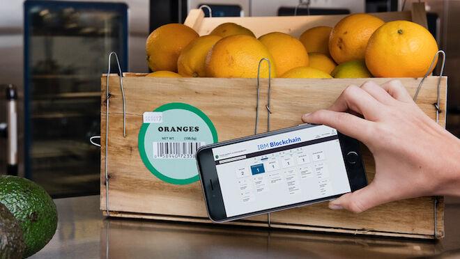 Blockchain para control de una caja de naranjas