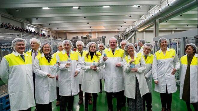 Calidad Pascual inaugura una planta de Bezoya en Segovia