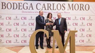 Carlos Moro presenta su vino tinto CM Prestigio