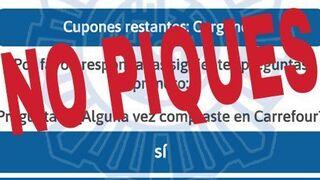 Alerta por la estafa del 60 aniversario de Carrefour