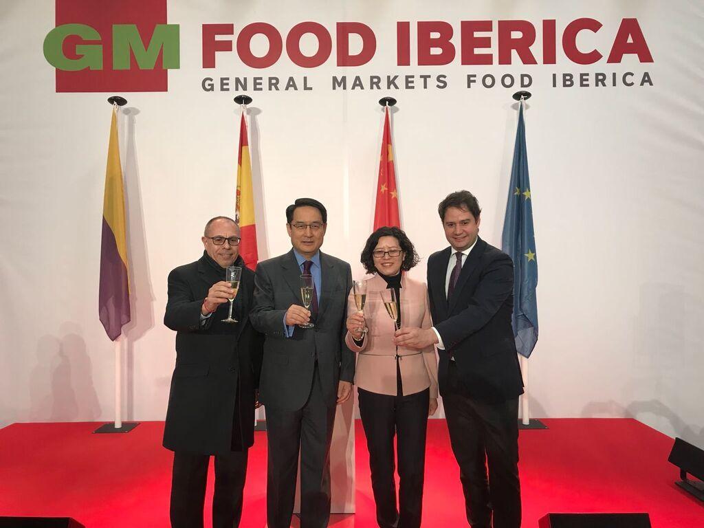 Pere Laymon, Luy Fan, Gong Yi e Ignacio Vázquez