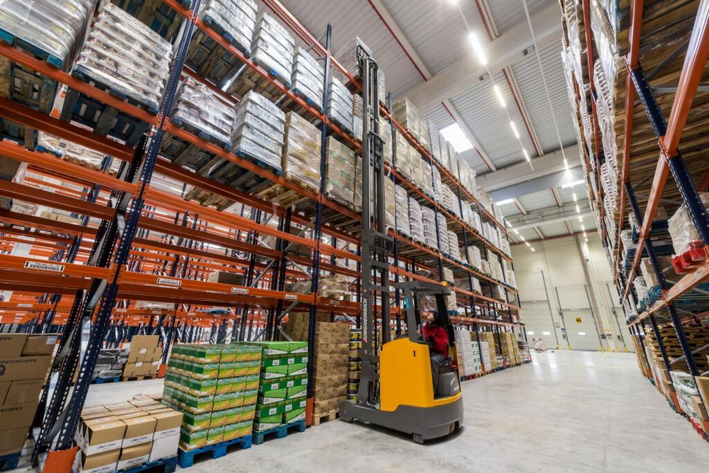 La instalación tiene capacidad para 20.000 palets