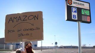 Los empleados llevan a los tribunales a Amazon España